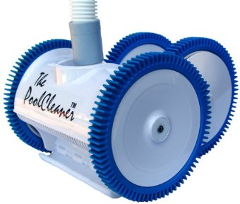 Poolvergnuegen The Poolcleaner 4X Suction Pool Cleaner