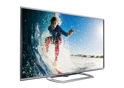 Sharp Aquos LC-70LE857U 70 Quattron 1080p 3D LED TV with 2 Pairs of 3D Glasses