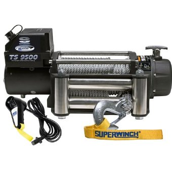 Superwinch Tiger Shark TS 9500 Winch with Roller Fairlead (1595200)