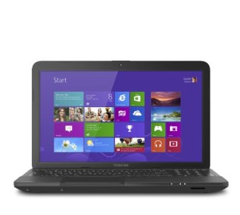 Toshiba Satellite C855D-S5320 15.6 Notebook (Satin Black Trax)