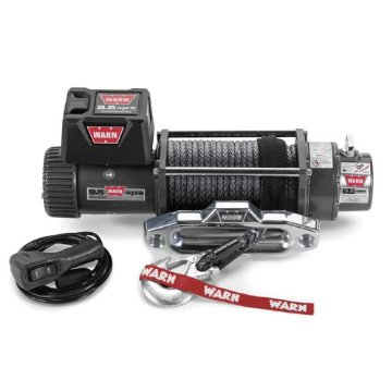 Warn 9.5xp-s Winch with Spydura Synthetic Rope (87310)