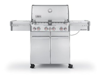 Weber Summit S-470 Stainless-Steel LP Gas Grill (7170001)