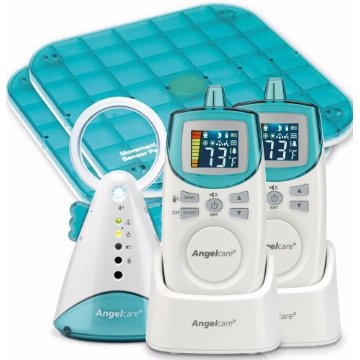 Angelcare Baby Movement and Sound Monitor Deluxe Plus with 2 Parent Units