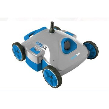 AquaBot Pura 4X Robotic Pool Cleaner (AJET123)