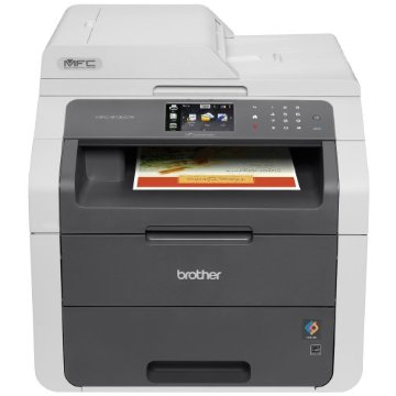 Brother MFC-9130CW Wireless All-In-One Color Printer with Scanner, Copier and Fax