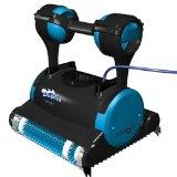 Maytronics Dolphin Triton Robotic Pool Cleaner with Caddy