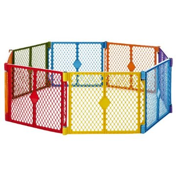 North States Superyard Play Yard (Colorplay, 8 Panel)