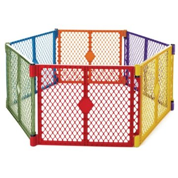 North States Superyard Play Yard (Colorplay, 6 Panel)