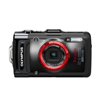 Olympus Stylus TG-2 iHS Tough Waterproof Digital Camera with 4x Zoom (Black)