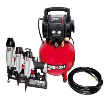 Porter-Cable PCFP12234 Compressor & 3-Tool Combo Kit