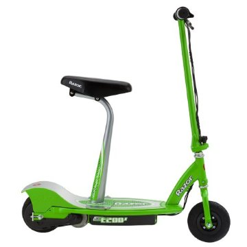 Razor E200S Seated Electric Scooter (Green)