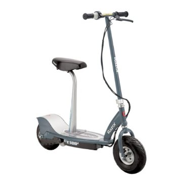 Razor E300S Seated Electric Scooter (Matte Gray)