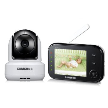 Samsung SEW-3037W SecureView Wireless Pan Tilt Video Baby Monitor with Infrared Night Vision and Zoom