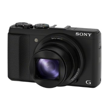 Sony Cybershot DSC-HX50V/B 20.4MP Digital Camera with 30X Zoom (Black)