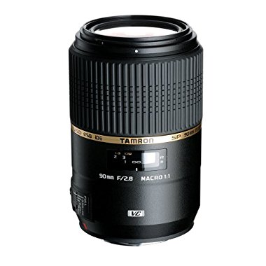 Tamron 90mm f / 2.8 SP Di MACRO 1:1 VC USD Lens for Canon AFF004C-700