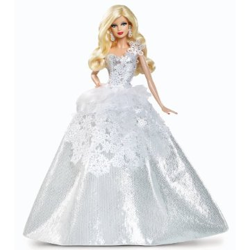 2013 Holiday Barbie Doll, 25th Anniversary (Blonde)