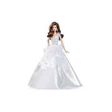 2013 Holiday Barbie Doll, 25th Anniversary (Auburn)