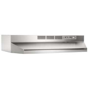 Broan Economy 30 Two-Speed Non-Ducted Range Hood (Stainless Steel, 413004)