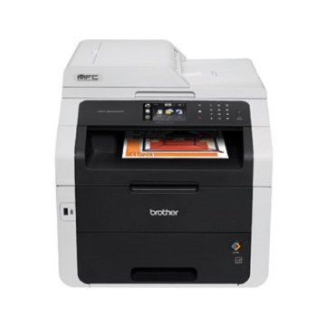 Brother MFC-9340cdw Wireless All-In-One Color Printer with Scanner, Copier and Fax