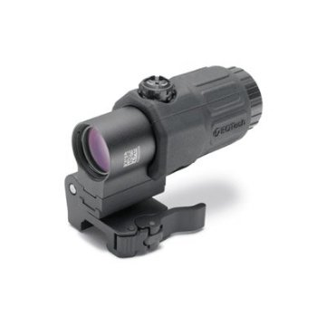 EoTech G33 3X Magnifier with STS Quick Detachable Mount, Black (G33.STS.BLK)