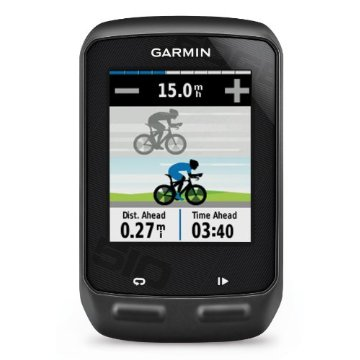 Garmin Edge 510 GPS Bike Computer with Heart Rate and GSC 10 Speed/Cadence Sensor