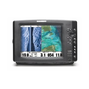Humminbird 1198c SI HD Combo Fishfinder and GPS (407990-1)