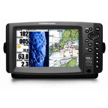 Humminbird 998C HD SI Combo Side Imaging/Down Imaging Dual Beam Fishfinder and GPS with Ethernet (408720-1)