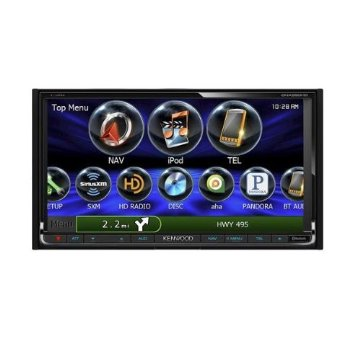 "Kenwood DNX890HD eXcelon 6.95"" Double DIN Navigation DVD Receiver"