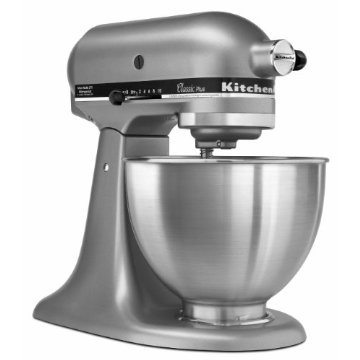 KitchenAid Classic Plus KSM75SL 4.5-Quart Stand Mixer (Silver)