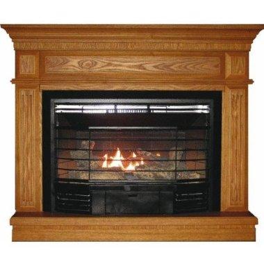 kozy world carlton gas fireplace dual fuel gfd2340