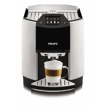 KRUPS Barista One-Touch Espresso & Cappuccino Machine with Automatic Rinsing and Two-Step Frothing (EA9000)