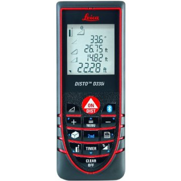 Leica Disto D330i Laser with Bluetooth and Smart Horizontal Mode