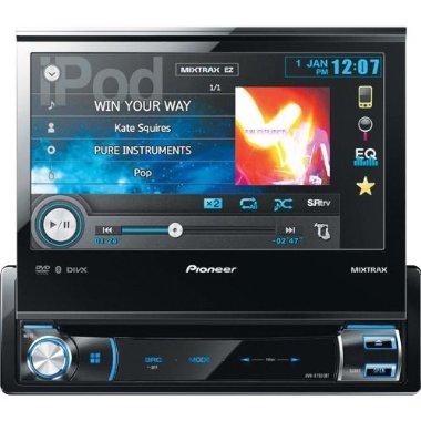 Pioneer AVH-X7500BT Single-DIN Multimedia DVD Receiver