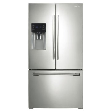 Samsung RF263TEAESR French Door 26 cu. ft. Refrigerator (RF263TEAE, Smooth Stainless Steel)