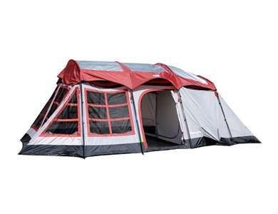 Tahoe Gear Glacier 3-Season Family Cabin Tent (for 12-14 People)