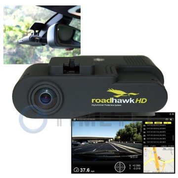 Timetec RoadHawk 1080P HD DVR Vehicle Black Box Camera with Built-in Microphone, GPS, G Gravity Sensor, Media Player