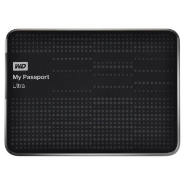 WD My Passport Ultra 1TB Portable External Hard Drive USB 3.0 with Auto and Cloud Backup (WDBZFP0010BBK-NESN)