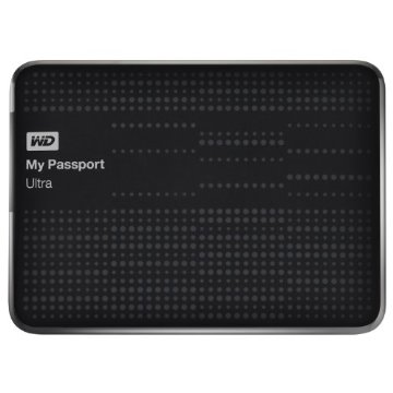 WD My Passport Ultra 2TB Portable External Hard Drive USB 3.0 with Auto and Cloud Backup (WDBMWV0020BBK-NESN)