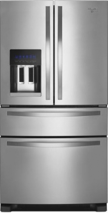Whirlpool WRX735SDBM 25 Cu. Ft. Stainless Steel French Door Refrigerator