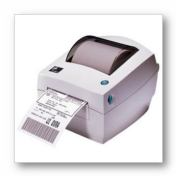 Zebra LP2844 Thermal Barcode Label Printer