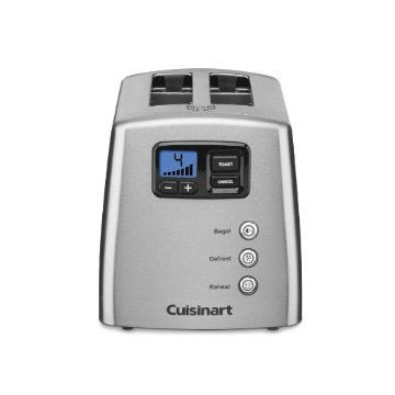 Cuisinart CPT-420 Touch to Toast Countdown Lever-less 2-Slice Toaster