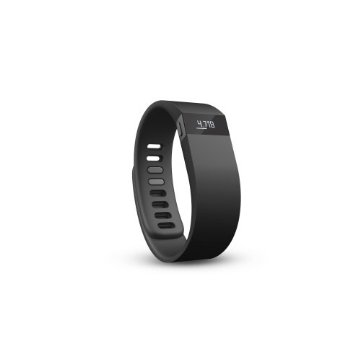Fitbit Force Wireless Activity   Sleep Wristband (Black, Large)