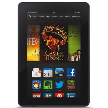 Kindle Fire HDX 7 Tablet with Wi-Fi, 16GB, Special Offers Screensaver