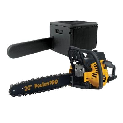 "Poulan Pro PP5020AV 20"" 50cc 2 Stroke Gas Powered Chain Saw with Carrying Case"