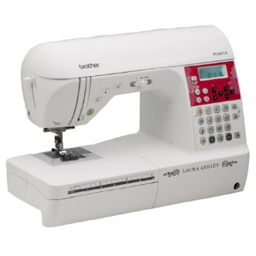 Brother PC660LA Laura Ashley Limited Edition Computerized Sewing & Quilting Machine with 3 built-in sewing fonts