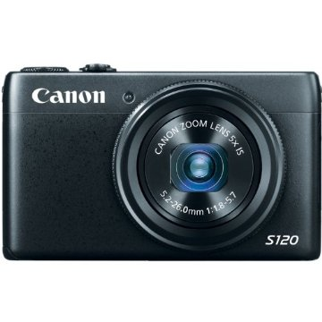 Canon PowerShot S120 12.1 MP CMOS Digital Camera with 5x Zoom and 1080p Video