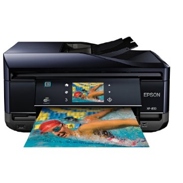 Epson Expression XP-850 Home Wireless Color Photo Printer with Scanner, Copier & Fax (C11CC41201)