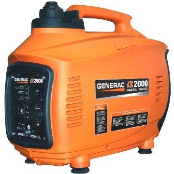 Generac iX2000 2,000 Watt 4-Stroke OHV Gas Portable Inverter Generator (5793)