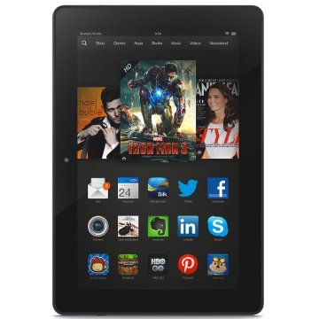 Kindle Fire HDX 8.9 Tablet with Wi-Fi, 16GB, and Special Offers Screensaver