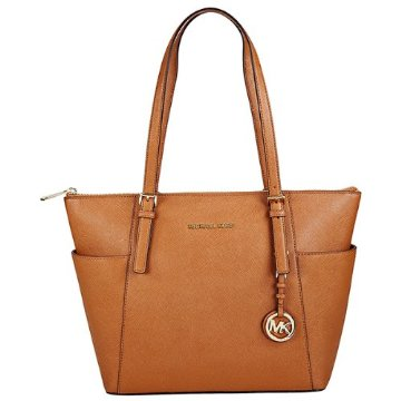 Michael Kors Jet Set Saffiano East West Zip Tote (5 Color Options)